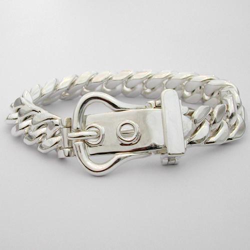 4ea92c347e Bracelet ceinture en argent 109 - Bijou moderne. Cliquer pour agrandir