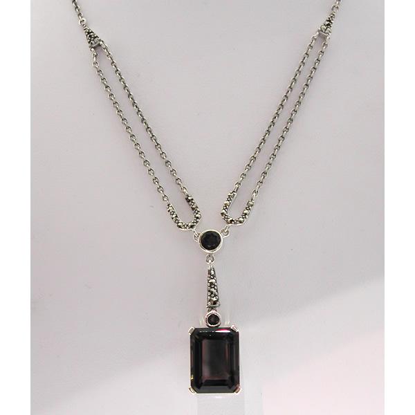افخم اكسسوار فضة و اكسسوار احجار كريمة وعقود خواتم بروشات collier-argent-76-st