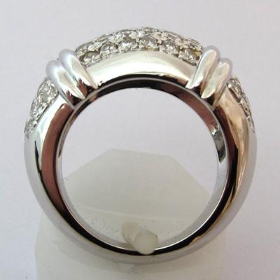bijoux modernes d 39 occasion paris bague en or et diamants 704. Black Bedroom Furniture Sets. Home Design Ideas