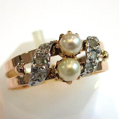 paris achat vente de bijoux en or bague ancienne perle diamant 767 bijoux anciens paris or. Black Bedroom Furniture Sets. Home Design Ideas