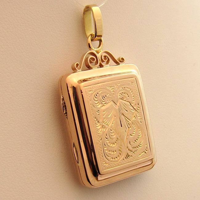 Pendentif porte photo ancien 221 bijoux anciens paris or for Bijoux porte photo