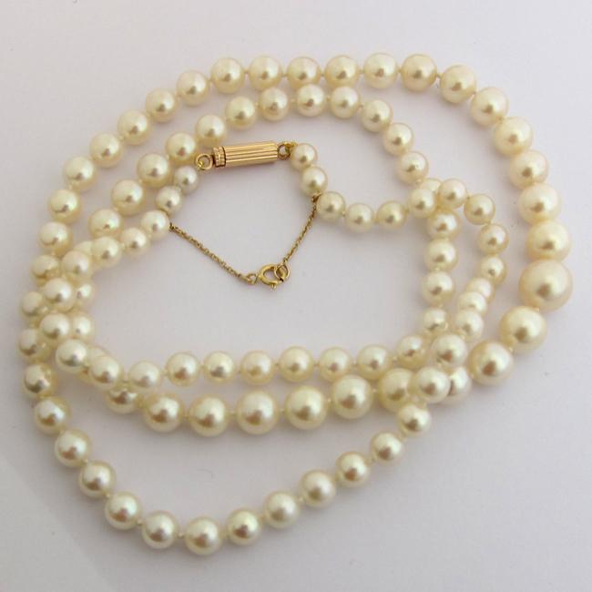 collier perle huitre